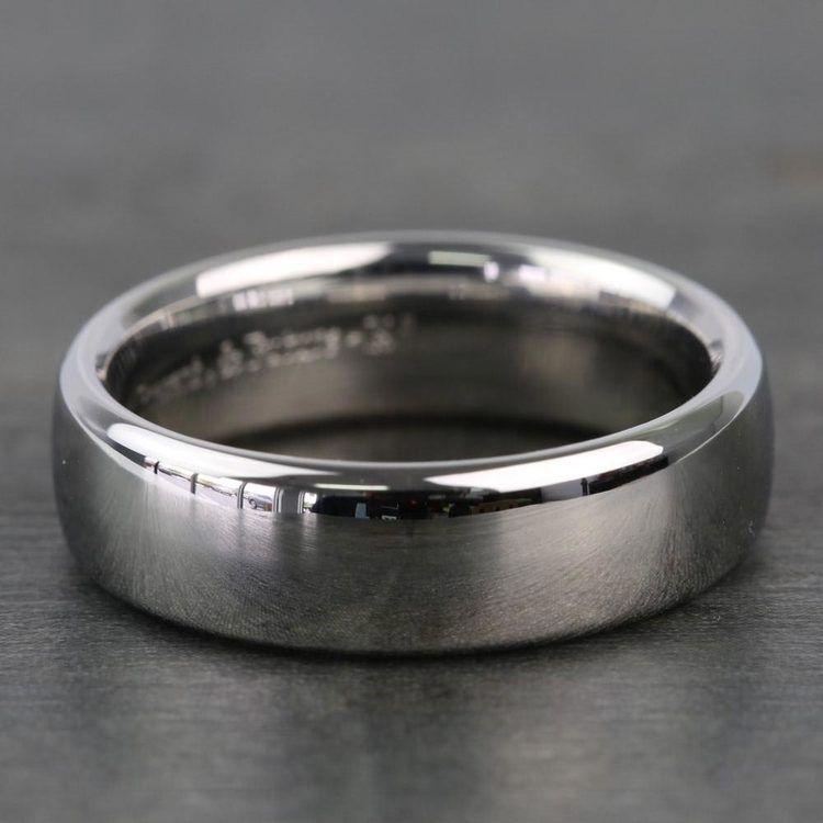 Comfort Fit Men's Wedding Ring in Cobalt (6.5mm) | 03