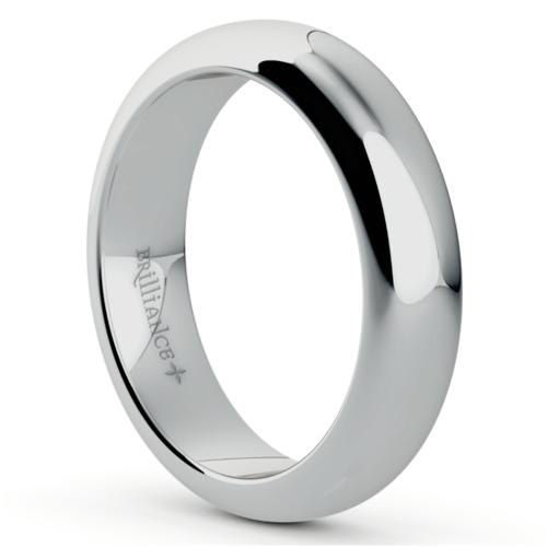 comfort fit mens wedding ring in platinum 5mm - Mens Platinum Wedding Ring