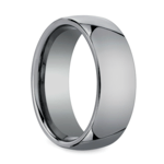 Comfort Fit Men's Wedding Ring in Tungsten (7mm) | Thumbnail 02