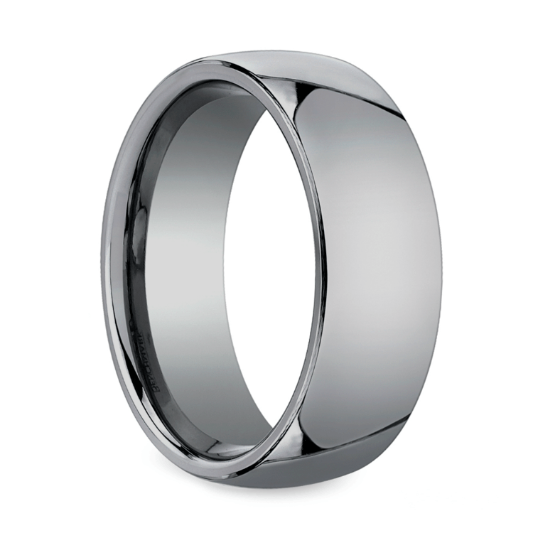 Comfort Fit Men's Wedding Ring in Tungsten (7mm) | 02
