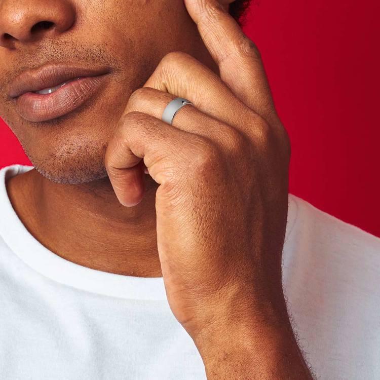 Comfort Fit Men's Wedding Ring in Tungsten (7mm) | 05