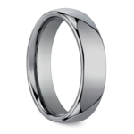 The Classic - Comfort Fit 6mm Tungsten Mens Band | Thumbnail 02
