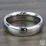 The Classic - Comfort Fit 6mm Tungsten Mens Band | Thumbnail 03