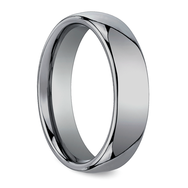 The Classic - Comfort Fit 6mm Tungsten Mens Band | 02