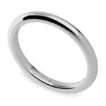 Comfort Fit Wedding Ring in Palladium (2mm)   Thumbnail 01