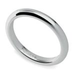 Comfort Fit Wedding Ring in Palladium (2.5mm) | Thumbnail 01