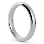 Comfort Fit Wedding Ring in Palladium (3mm) | Thumbnail 02