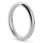 Comfort Fit Wedding Ring in Platinum (2.5mm) | Thumbnail 02