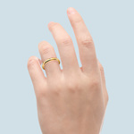 Comfort Fit Wedding Ring in Yellow Gold (2.5mm) | Thumbnail 03