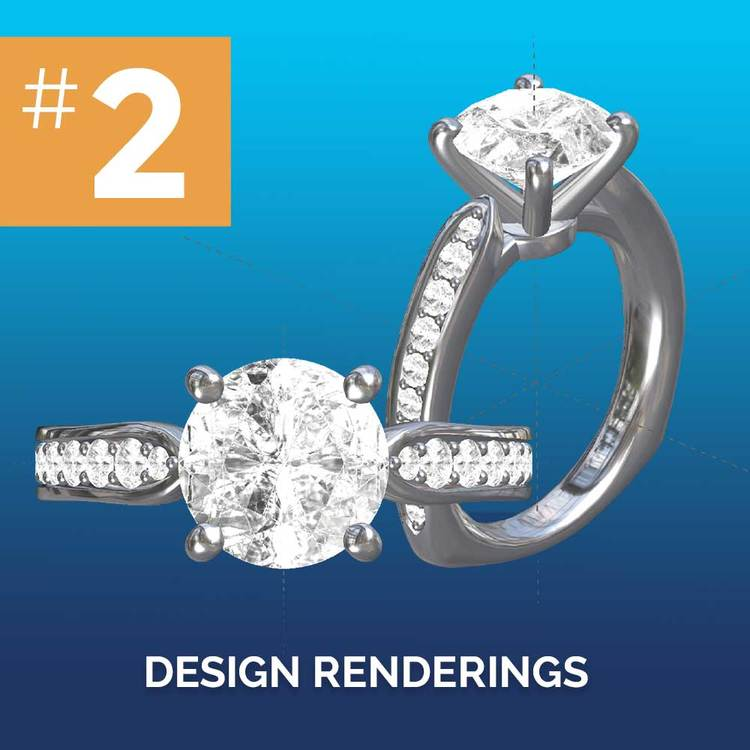 Custom Jewelry & Ring Design Deposit | 02