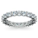 Diamond Eternity Ring in Platinum (2 ctw) | Thumbnail 02