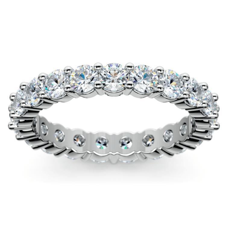Diamond Eternity Ring in Platinum (2 ctw) | 02