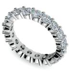 Diamond Eternity Ring in Platinum (3 ctw) | Thumbnail 01