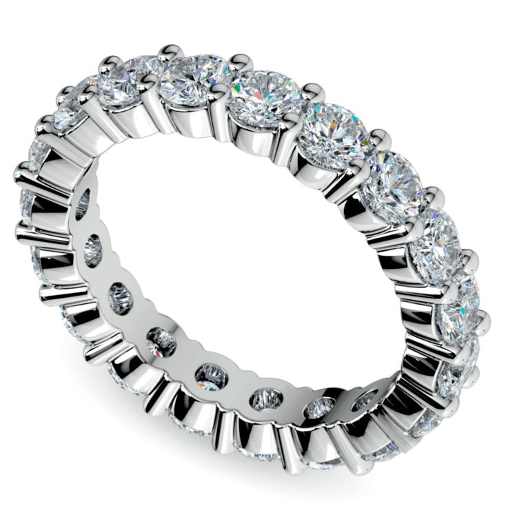 Diamond Eternity Ring in Platinum (3 ctw) | 01