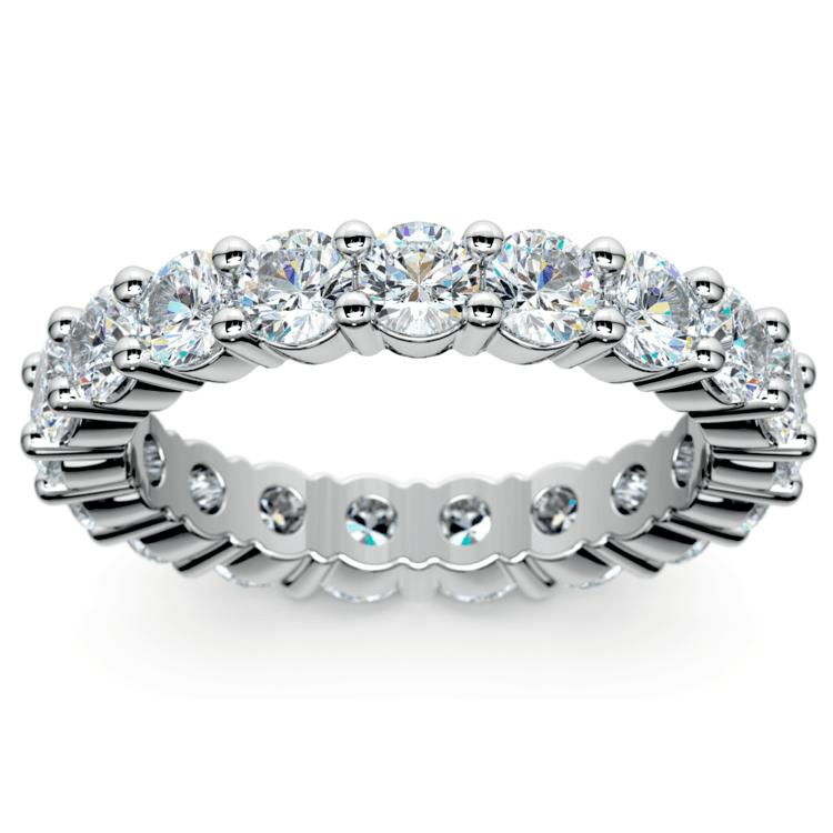 Diamond Eternity Ring in Platinum (3 ctw) | 02