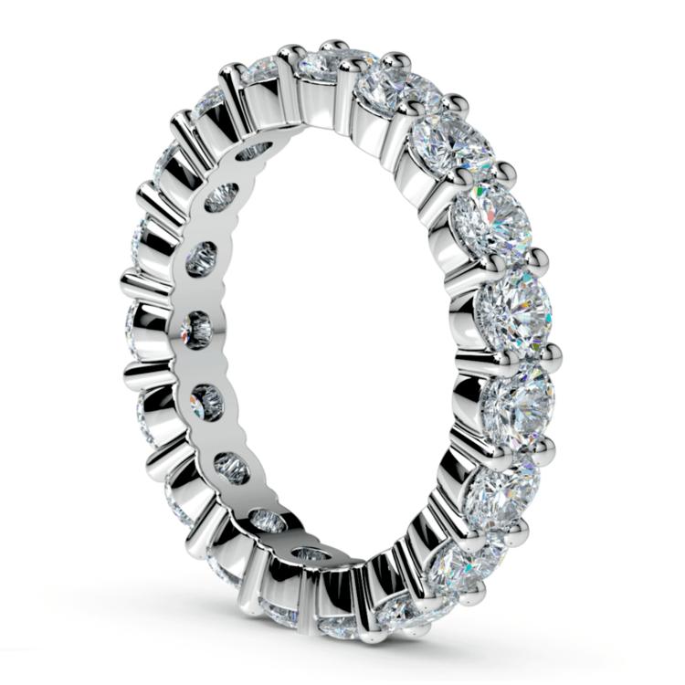 Diamond Eternity Ring in Platinum (3 ctw) | 04