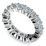Diamond Eternity Ring in Platinum (4 1/4 ctw) | Thumbnail 01