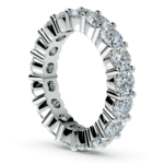 Diamond Eternity Ring in Platinum (4 1/4 ctw) | Thumbnail 04
