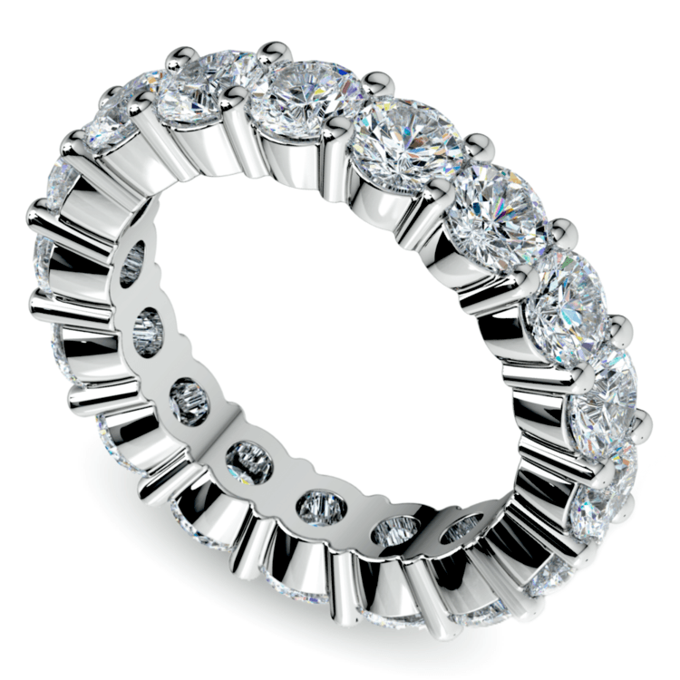 Diamond Eternity Ring in Platinum (4 1/4 ctw) | 01
