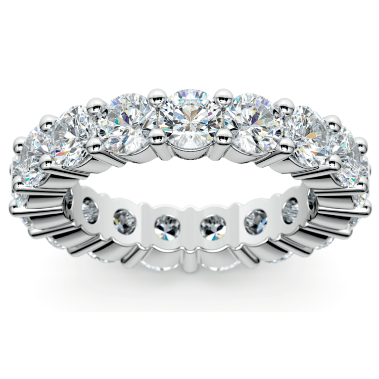 Diamond Eternity Ring in Platinum (4 1/4 ctw) | 02