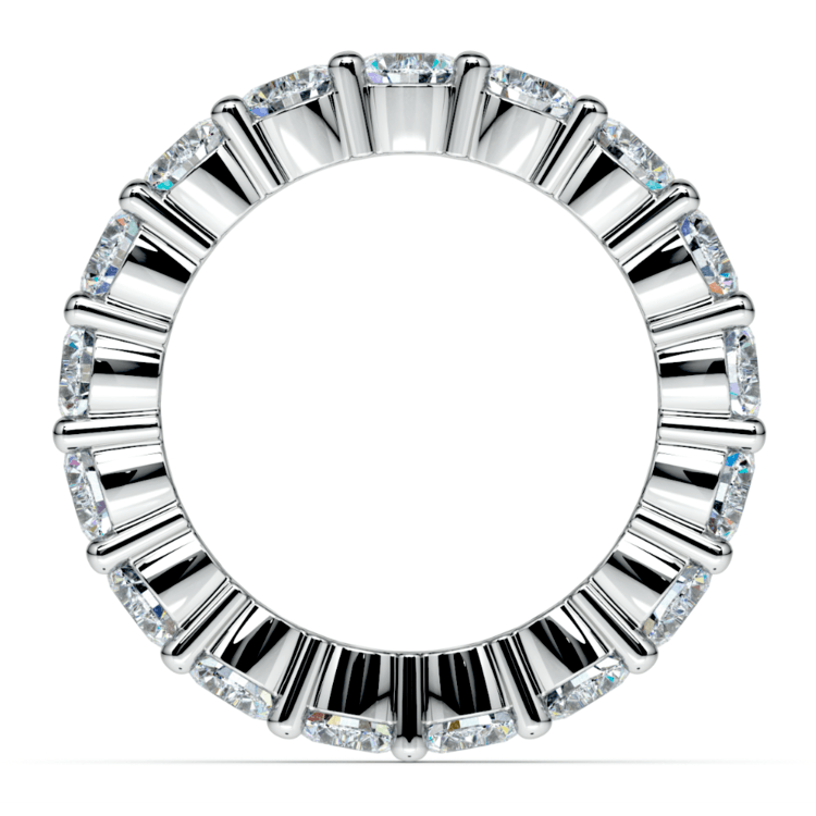 Diamond Eternity Ring in Platinum (4 1/4 ctw) | 03