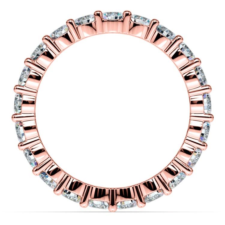Diamond Eternity Ring in Rose Gold (2 ctw) | 03
