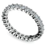 Diamond Eternity Ring in White Gold (1 ctw) | Thumbnail 01
