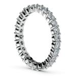 Diamond Eternity Ring in White Gold (1 ctw) | Thumbnail 04