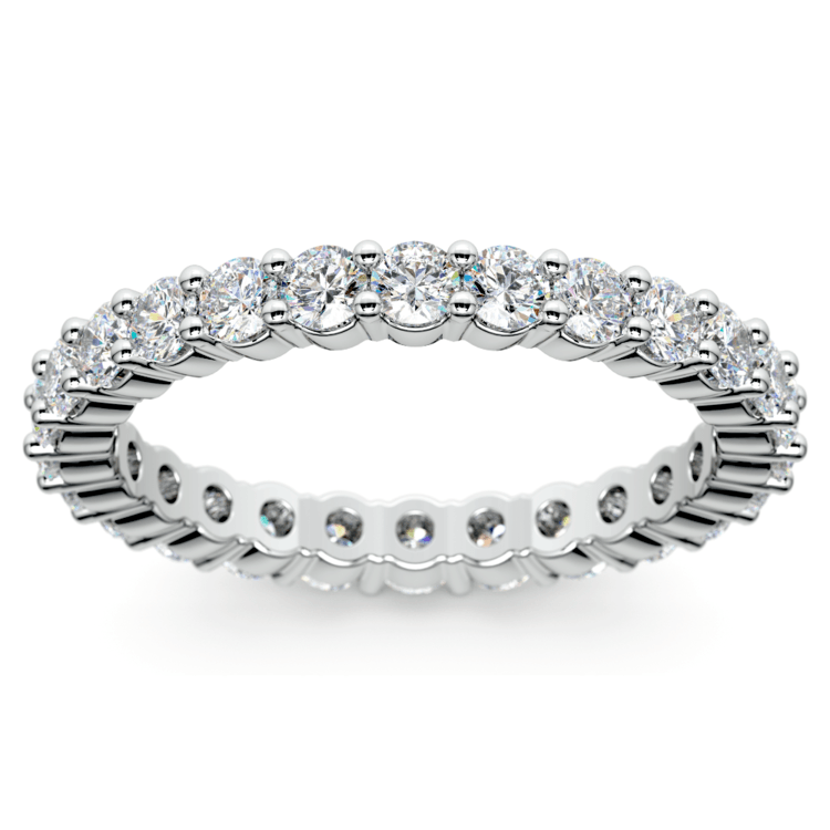 Diamond Eternity Ring in White Gold (1 ctw) | 02