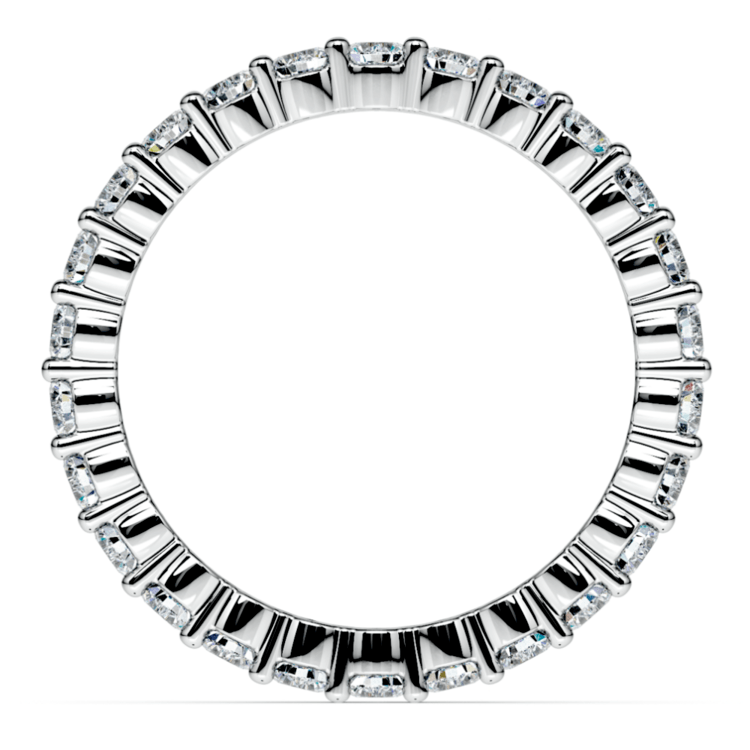 Diamond Eternity Ring in White Gold (1 ctw) | 03
