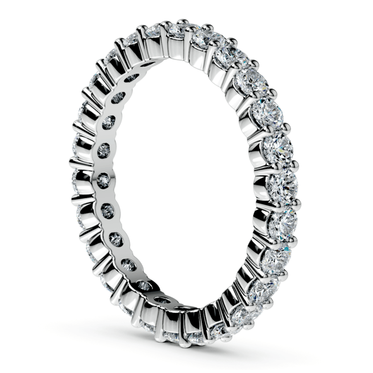 Diamond Eternity Ring in White Gold (1 ctw) | 04