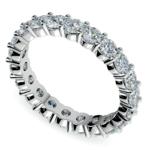 Diamond Eternity Ring in White Gold (2 ctw) | Thumbnail 01