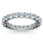 Diamond Eternity Ring in White Gold (2 ctw) | Thumbnail 02