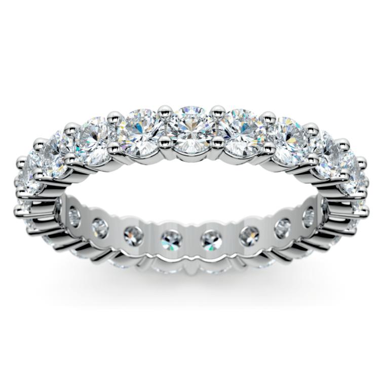 Diamond Eternity Ring in White Gold (2 ctw) | 02