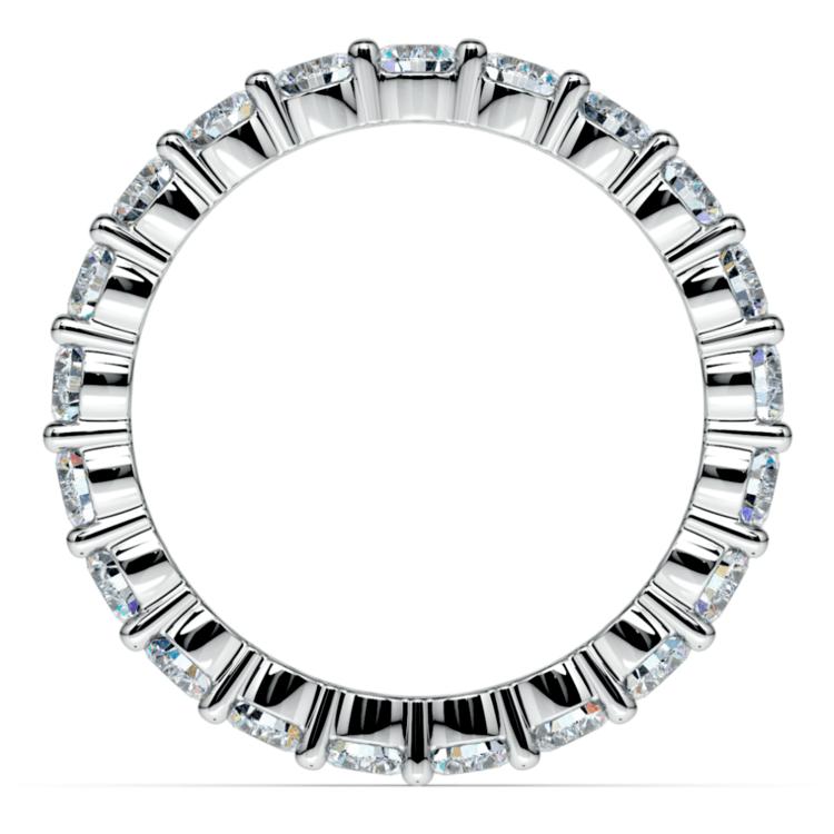 Diamond Eternity Ring in White Gold (2 ctw) | 03