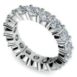 Diamond Eternity Ring in White Gold (4 1/4 ctw) | Thumbnail 01