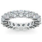 Diamond Eternity Ring in White Gold (4 1/4 ctw) | Thumbnail 02