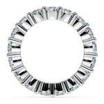 Diamond Eternity Ring in White Gold (4 1/4 ctw) | Thumbnail 03