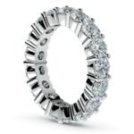 Diamond Eternity Ring in White Gold (4 1/4 ctw) | Thumbnail 04