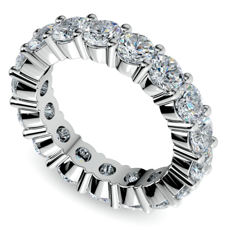 Diamond Eternity Ring in White Gold (4 1/4 ctw) | 01