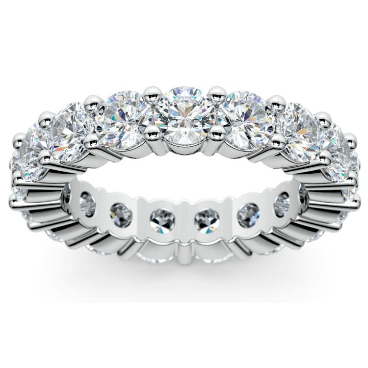 Diamond Eternity Ring in White Gold (4 1/4 ctw) | 02