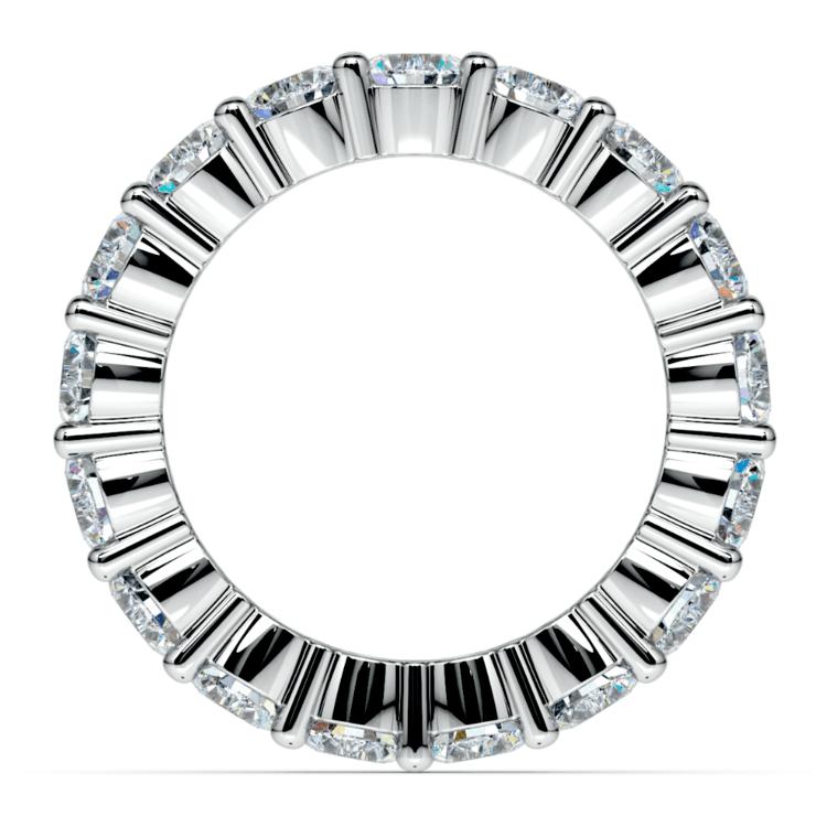 Diamond Eternity Ring in White Gold (4 1/4 ctw) | 03