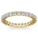 Diamond Eternity Ring in Yellow Gold (1 ctw) | Thumbnail 02