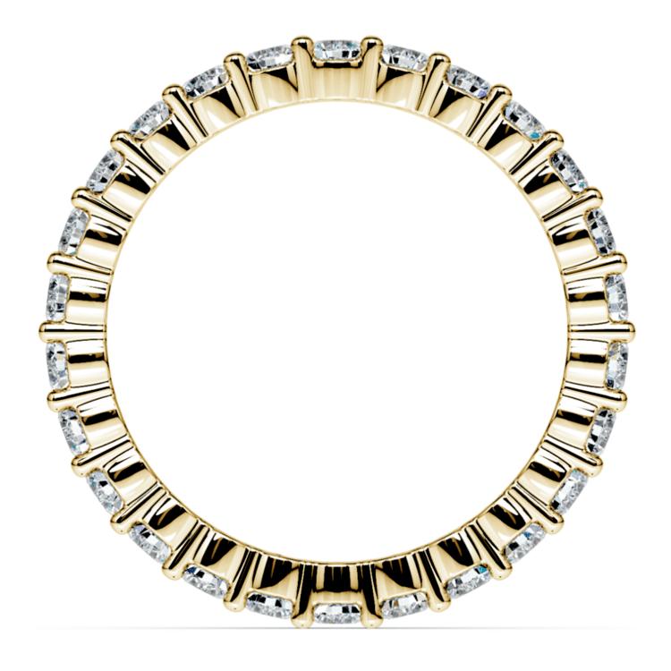Diamond Eternity Ring in Yellow Gold (1 ctw) | 03