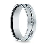 Diamond Eternity Men's Wedding Ring in Palladium | Thumbnail 02