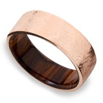 Lincoln - 14K Rose Gold Mens Wedding Band | Thumbnail 01