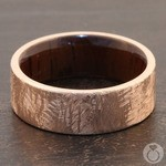 Lincoln - 14K Rose Gold Mens Wedding Band | Thumbnail 03