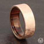 Lincoln - 14K Rose Gold Mens Wedding Band | Thumbnail 04