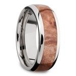 Jupiter - Titanium & Wood Mens Wedding Band | Thumbnail 02