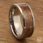 Jupiter - Titanium & Wood Mens Wedding Band | Thumbnail 05